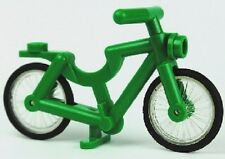 LEGO Minifig Green Bicycle Cycle Bike Friends Creator Modular Pet Shop 10218 NEW
