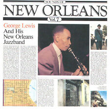 Lewis, George, Sounds of New Orleans 7, Excellent