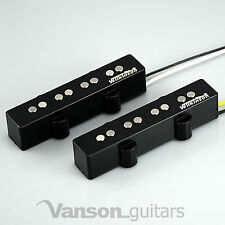 "Nouveau Wilkinson WJB alnico neck & bridge bass pickups pour ""jb"" type guitares, jazz"