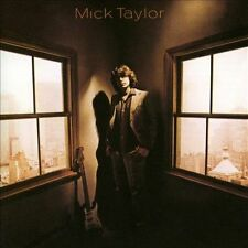MICK TAYLOR: Mick Taylor / Rolling Stones Lead Guitarist 1st Solo Album, CD 1979