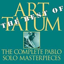 ART TATUM Best Of Complete Pablo Solo Masterpieces CD NEW PACD-2405-442-2 swing