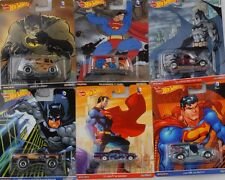 Pop Culture assortment Batman & Superman 1:64 Hot Wheels DLB45 DC Comics