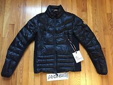 Moncler Grenoble Canmore Black Down Jacket Zipped Padded Coat Sz 1/ Small Gamme