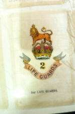 B.D.V. Cigarettes Silk- 2nd LIFE GUARDS BADGE SILK (7x5 cm)
