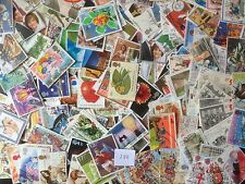 200 Different Great Britain Commemoratives 1980-1989 Stamp Collection