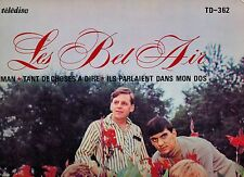 MFD IN CANADA FRENCH QUEBEC POP BEAT/ROCK & GARAGE LP : LES BEL AIR