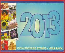 INDIA 2013 Commemorative Stamps Complete Post Office Year Pack MNH
