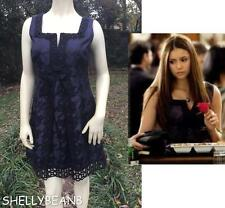 ANNA SUI Target JACQUARD PARTY Dress GOSSIP GIRL Jrs 7 Wms 4 On VAMPIRE DIARIES