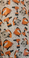 DAD'S POWER TOOLS DESIGN GIFT WRAP ROLL WRAPPING PAPER 100 SQ FEET FATHERS DAY