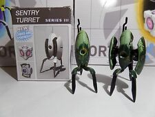 Peacock Turret Pair Portal 2 Sentry Turret Series 3 Action Figure NECA NIB