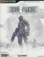 Lost Planet : Extreme Condition BradyGames XBox 360 Players Guide  2006 & Poster