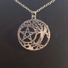 Supernatural - Pentacle and the Tree of LIfe Necklace -  Free Shipping!