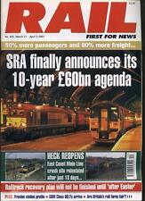 RAIL MAGAZINE -  March 21/ April 3 2001 - No. 405
