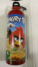 Angry Birds Classic 24 Oz Aluminum Water Bottle With Clip Backpack 100% Original