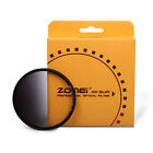 Zomei Ultra Slim Optical Resin Graduated Neutral Density ND4 Grey Filter 77mm