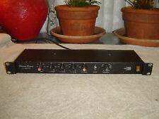 Biamp M2/V, Electronic Crossover, Vintage Rack