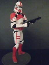 STAR WARS LEGACY SHOCK CLONE TROOPER FIGURE S/A