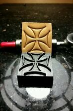 Maltese Iron Cross Leather Embossing Stamp