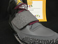 Nike Jordan Son Of Mars, Dark Grey / Bordeaux, Size 11, 2012