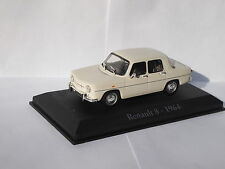 Renault 8 1964 in White / Cream 1/43rd Scale