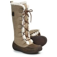 NEW Womens Sorel Chugalug Tall Leather Insulated Boots Laurel Leaf $200 Size 5