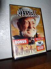 Once Upon A Texas Train starring Willie Nelson (DVD, 2009, DVD/CD,NEW)