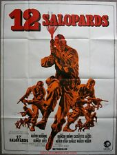 LES 12 SALOPARDS / The Dirty Dozen Affiche Cinéma / Movie Poster Lee Marvin