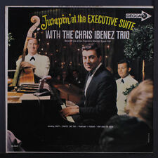 CHRIS IBENEZ: Jumpin' At The Executive Suite LP (Mono) Jazz