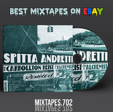 Curren$y - The Carrollton Heist Remixed Mixtape (CD/Front/Back Cover) Currensy