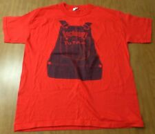 PO FOLKS youth XL tee 1970s vtg HOWDY kids Florida homestyle cooking T shirt