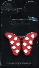 Minnie Mouse Butterfly Red Polka Dot Disney Pin 111424