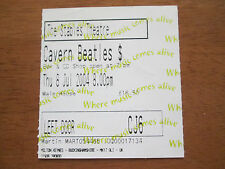 THE CAVERN BEATLES 64 ON TOUR - THE STABELS WAVENDON 8.7.2004 X2 USED TICKETS