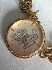 D&G Dolce & Gabbana Time SECRET SERVICE Gold Pocket Watch