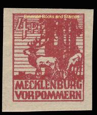 EBS Germany 1946 Soviet Zone Mecklenburg-Vorpommern Michel 31y MNH**