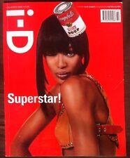 i-D Magazine February 2003 Naomi Campbell Viggo Mortensen Takashi Murakami