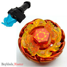 Fusion METAL Beyblade Masters BB-89 Sol (Solar) Blaze V145AS+BLUE LAUNCHER+GRIP