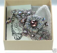 Kirks Folly Twilight Primrose Sparkle Barrette  New in Box!