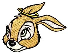 Halo Bunny Angel Rabbit Good Pet Artist Kozik Embroidered Iron On Applique Patch
