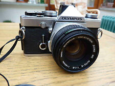 Olympus OM1 MD & Zuiko 50mm f1.8 inc Shoe 4