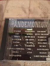 Pandemonium [Snake Pit] [PA] by Various Artists (CD, Nov-2001, Snake Pit Records