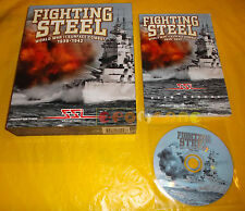 FIGHTING STEEL WORLD WAR II SURFACE COMBAT Pc Ver Inglese Big Box ○○○○ COMPLETO