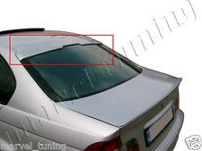 Rear Roof Window Spoiler BMW E46 Serie 3 ( 4 DOOR SALOON  )