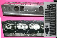 NEW 2 GM BBC CHEVY 396 427 454 ALUM CYLINDER HEADS OVAL PORTS & ARP BOLT NO CORE