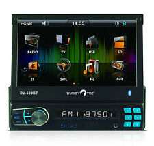 "RDS-Autoradio mit 7""TFT USB SD/MMC MP4/MP3/WMA Bluetooth Fernbedienung 200 Watt"