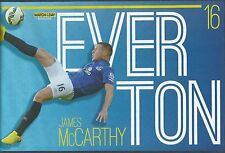 MOTD-POSTER 2014/15-EVERTON & EIRE-WIGAN ATHLETIC-HAMILTON-JAMES McARTHY