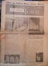 THE VILLAGE VOICE 11 Luglio 1963  Invasione di Baltimora Cattedrale San Patrizio