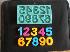 Silicone Mould NUMBERS 3 Sugarcraft Cake Decorating Fondant / fimo mold