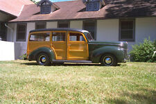 521081 1940 Ford Deluxe Woody V 8 A4 Photo Print