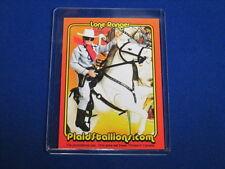 GABRIEL LONE RANGER WESTERN COWBOYMASKED MAN & HORSE SILVER PROMO TRADING CARD