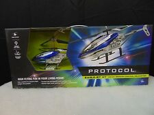 Protocol EagleJet XT 3.5 Channel RC Remote Control Helicopter Fly Toy #C181